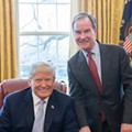 GOP gov hopefuls Schuette and Calley are jockeying for front seat on the Trump train