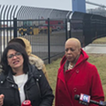 Tlaib joins Detroit protest against Marathon oil refinery malfunction