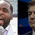 Former Detroit Mayor Kwame Kilpatrick and former Trump campaign manager Paul Manafort.