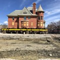 How crews moved a 500-ton, 3,000-square-foot house at Wayne State University
