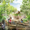 Animal-themed playground added to Detroit's $50M west waterfront park