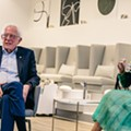 Bernie Sanders and Cardi B met at a Detroit nail salon, we don't know what's happening