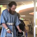 Mike Posner is walking again after rattlesnake bite