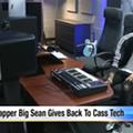Big Sean helped donate a recording studio to Cass Tech