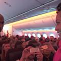 VIDEO: Motown the Musical cast treats Detroit-bound airplane passengers to an impromptu performance