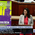 Rep. Tlaib tackles environmental racism in PFAS cleanup bill