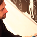 Check out this video profile of Cleon Peterson, whose solo show is currently on view in Detroit