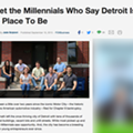 This may be the worst article about Millennials saving Detroit yet