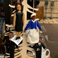 MSU apologizes over display of Black dolls hanging from a tree in gift shop