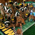 2015 Michigan vs. Michigan State game immortalized with taxidermied chipmunks