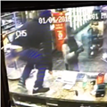 Caught on camera: Marcus Market clerk puts the smack down on would-be laptop thief