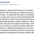 Detroit teacher posts open letter to emergency manager