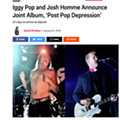 'SPIN' reports collaborative LP by Iggy Pop and Josh Homme