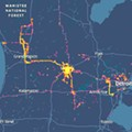 Cellphone data shows protesters dispersed across Michigan, raising concerns of spreading coronavirus