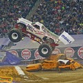 An artful display of monster trucks and BBQ awaits you in Northville