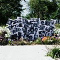 Detroit artist creates floral installations to honor Black historic sites and help florists hurt by coronavirus