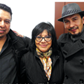From left: Norberto Garita, chef-owner of El Barzon; author and historian Maria Elena Rodriguez; and Luis Garza, chef-owner of El Asador.