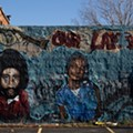 Detroit artist Sintex's 'Our Land Till Death' mural is slated for demolition — but Allied Media Projects asked him to re-create it