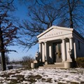 Mausoleums broken into at historic Woodmere Cemetery in Southwest Detroit