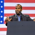 John James delves into Britney Spears' conservatorship with bumbling comparison to liberal policies