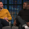 VIDEO: The stars of 'Detroiters' discuss TV ads, metro Detroit vs. Detroit, and Outback Steakhouse with Seth Meyers