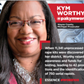 'Essence' magazine names Kym Worthy to inaugural 'Woke 100' list