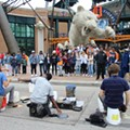 The street drummers who soundtrack downtown Detroit