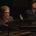 VIDEO: Jack White and Elton John teamed up for an epic duet