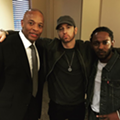 Eminem posts photo with Dr. Dre and Kendrick Lamar while sporting a new beard