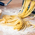 The kind of pasta we imagine is being made at SheWolf.