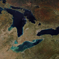 You can see Michigan's fall colors from outer space