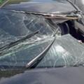 A Warren man is being hospitalized after teens threw a sandbag off an I-75 overpass