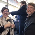 A couple got hitched on the QLine this weekend and it was actually really cute