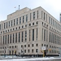 Theodore Levin United States Courthouse in Detroit, taken January 2010 by Andrew Jameson.