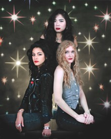 MONO PHOTO STUDIO - Sade Sanches, Irita Pai, and Ellie English of L.A. Witch.