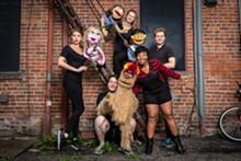 COURTESY PHOTO. - Avenue Q cast.