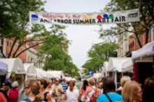 THE ANN ARBOR ART FAIR - The Ann Arbor Art Fair