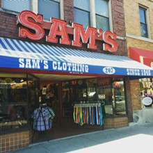COURTESY PHOTO - Sam's Basic Clothing, Ann Arbor