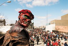 PHOTO BY KATE CHO - Marche du Nain Rouge