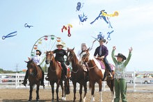 PHOTO BY DEBRA MORGAN - There will be horses galore at the fair.
