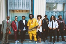 COURTESY PHOTO. - Kamasi Washington and the Next  Step