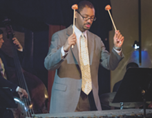 PHOTO BY BRITA BROOKES. - The Jason Marsalis Vibes Quartet performs at Jazz Café in September.