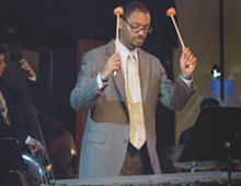 PHOTO BY BRITA BROOKES. - The Jason Marsalis Vibes Quartet performs at Jazz Café in September.