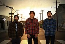 PHOTO BY CAMILLA SAUFLEY - Earthless: Guitarist Isaiah Mitchell, drummer Mario Rubalcaba, and bassist Mike Eginton.