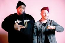 COURTESY PHOTO. - Killer Mike and El-P are Run the Jewels.