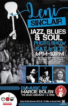Leni Sinclair Jazz, Blues & Soul Photograhy show - Uploaded by Lsmith