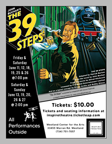 The 39 Steps - Uploaded by Westland Center for the Arts