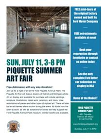 Piquette Summer Art Fair - Uploaded by David Flatt