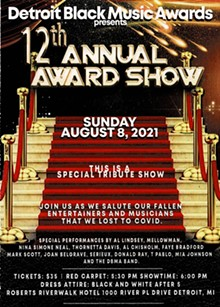 12th Annual Detroit Black Music Awards - Uploaded by unlimitedskyproduction@gmail.com