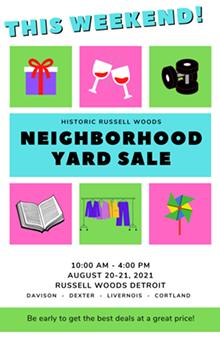 RWSSA Neighborhood Yard Sale - Uploaded by annetheworst